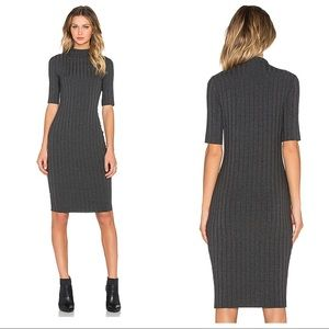 Bailey 44 Grid Dress - Anthracita from Revolve L